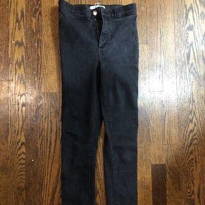 Topshop Joni blue jeans size 25th 6